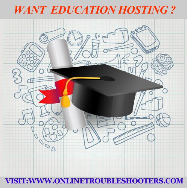 Education Hosting @$19 per year