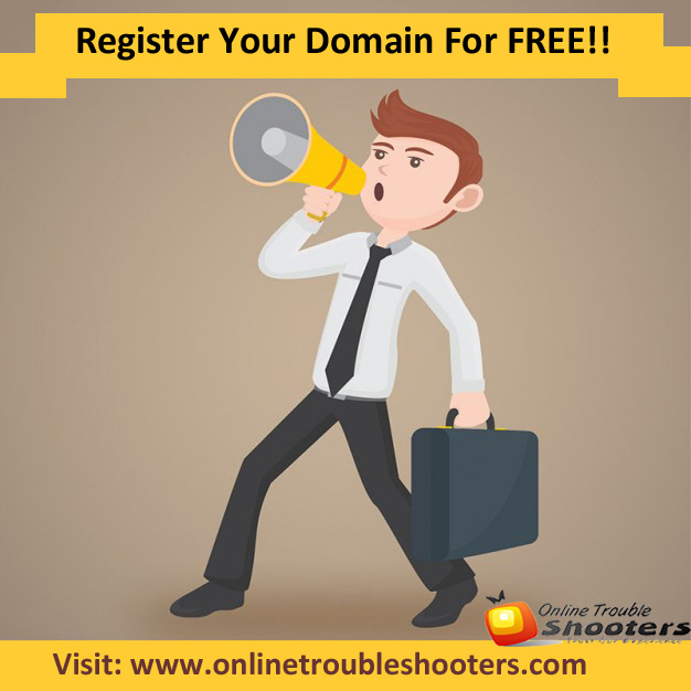 Book Your Own Domain Name For FREE !!