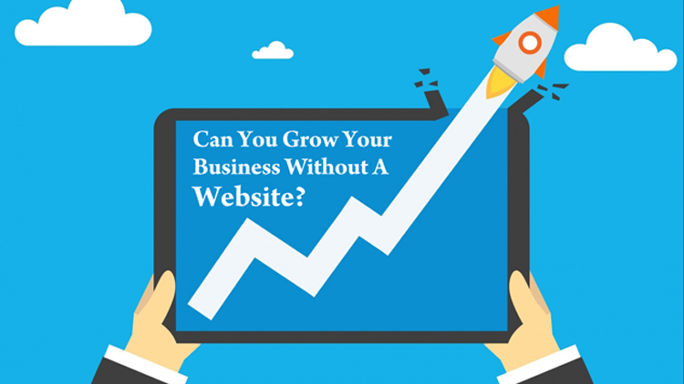 CAN YOU GROW YOUR BUSINESS WITHOUT A WEBSITE